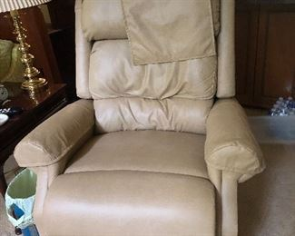 Leather Lift Recliner