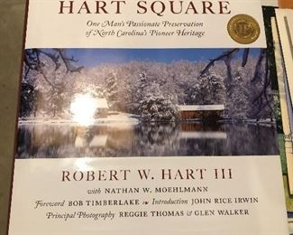 Signed Hart Square Book