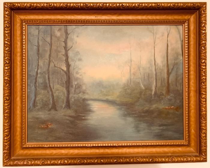 One of Many Oil Paintings