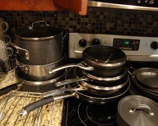 Calphalon cookware, priced individually