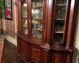 Large antique dining room cabinet