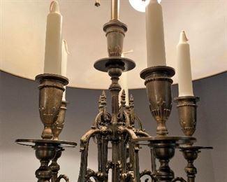 5 arm candelabra