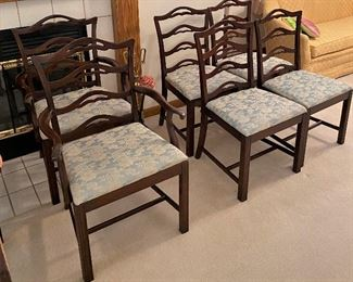 Set of 6 dining chairs by Hickory Furniture of South Carolina