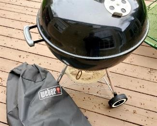 Weber Grill, charcoal grill