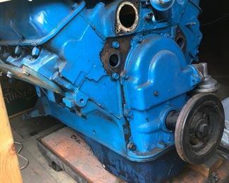 Big Block Ford Engine
