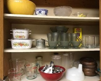 Corning Ware, Pyrex, Tupperware and more!