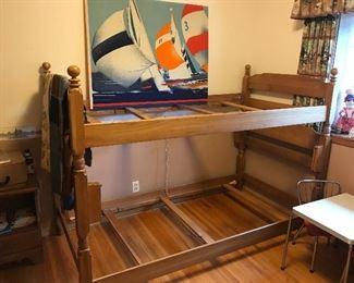 Retro bunk beds