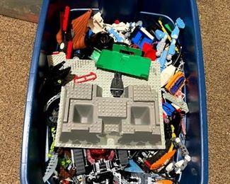 Lego, bins of Legos