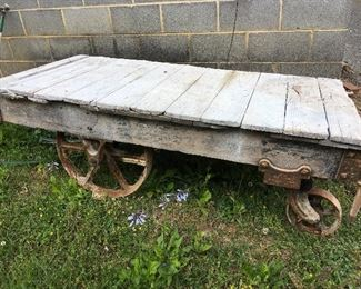 Early 1900's Railroad cart