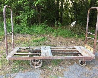 Large Vintage Railroad Cart