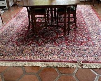 Karastan rug 100% wool - 8.8' x 10.6'