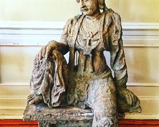 Vintage Guanyin on a Royal Ease Pose
