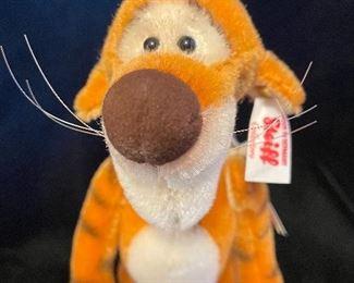 """$156.00 Mini Tigger EAN 683664 9.5"""" Mohair LE 537/2000 With box and COA"""
