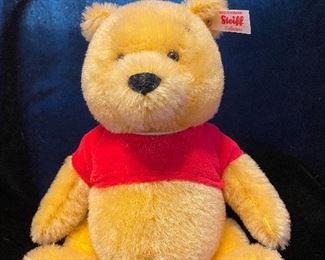 "$185.00 Mini Winnie the Pooh EAN 683411 8.5"" Mohair  LE 66/2000 With box and COA"