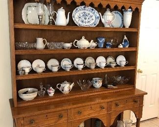 Open hutch and collectables