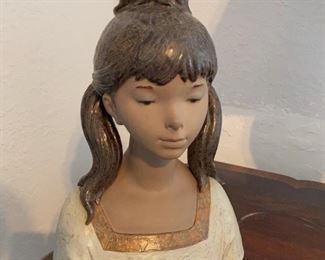 Large Lladro bust