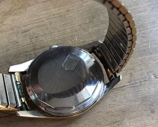 vintage 1950-60s Universal Geneve Polerouter watch Cal 138 - runs