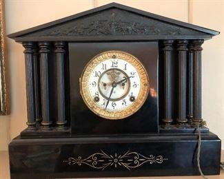 Ansonia mantel clock Pat 1881
