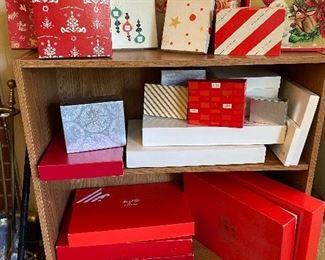 Marshall Field Christmas boxes