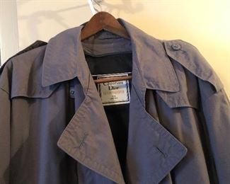 Christian Dior men's trench coat