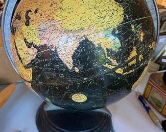 "Vintage Weber Costello 10"" Black globe"