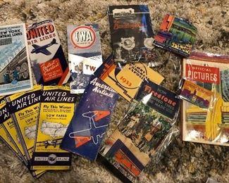 Century of Progress 1933 1934 booklets, guides, exhibit brochures