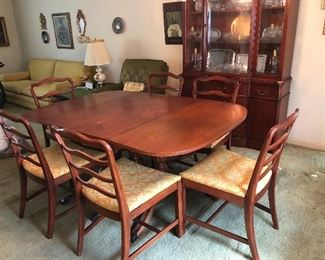 vintage 1960s Morganton Dining room set