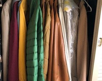 vintage / retro men's coats