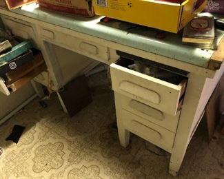 basement desk / work bench
