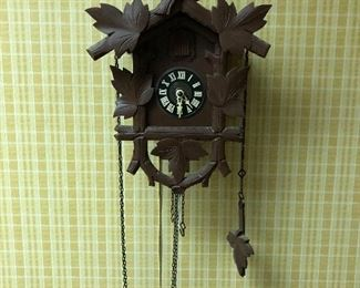 another vintage cuckoo clock