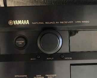 #10 Yamaha HTR 5590 AV receiver  $50.00