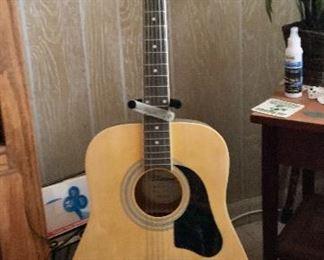 Silvertone Acoustic Guitar