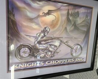 Knights choppers inc poster