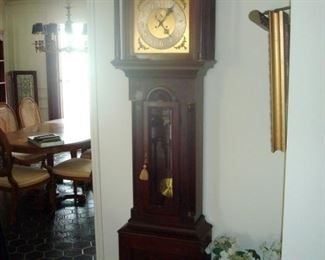 Antique moon phase grandfather clock. Will list clock maker at later date.