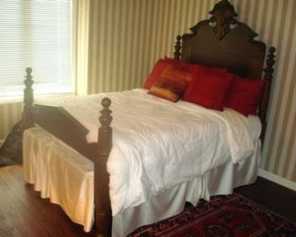 Antique Victorian bed