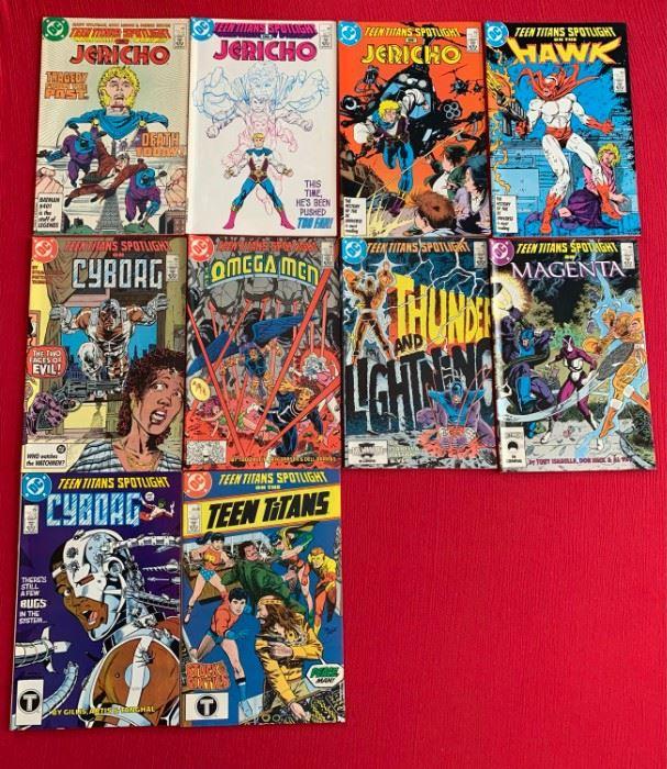 Marvel Comics Presents Teen Titans Spotlight
