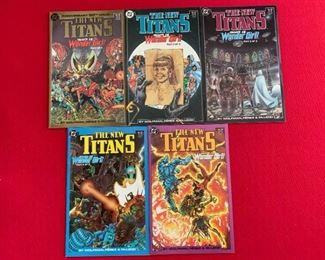 Marvel Comics Presents The New Titans