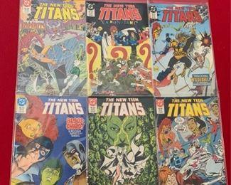 Marvel Comics Presents The New Teen Titans No 38, 40, 41, 42, 43, 44