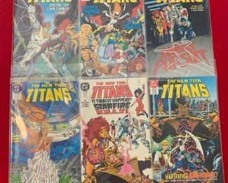 Marvel Comics Presents The New Teen Titans No. 33, 34, 32, 35, 36, 37