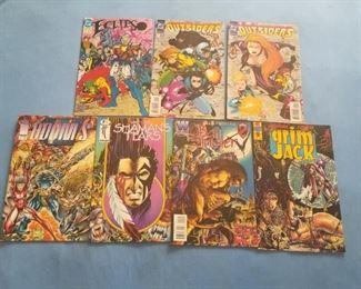 FIRST COMICS, DC COMICS, WINDJAMMER, IMAGE