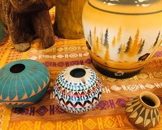 pottery by Lewis Juble,