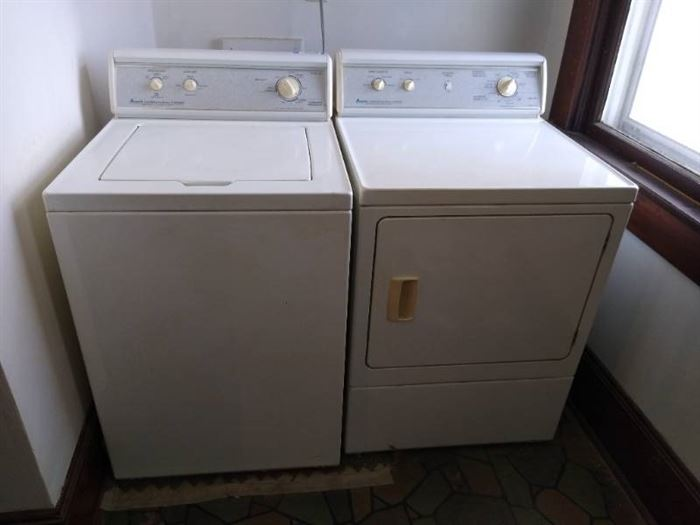 Amana commercial quality washer & dryer