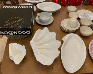 "Wedgwood ""Nautilus Collection"" porcelain"