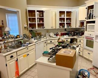 packed kitchen!