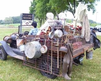 Disclaimer ... The above image does not reflect actual sale items. (Rock on Beverly Hillbillies!)