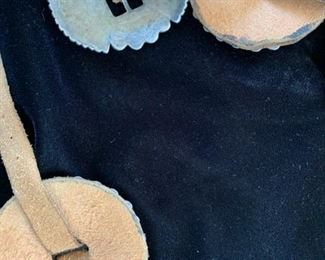 Reverse of concho belt