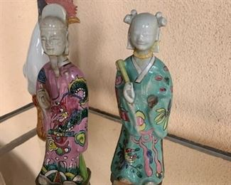 French chinoiserie figures