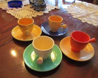 Set of 4 Fiesta demi-tasse