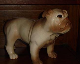 Bull dog figurine