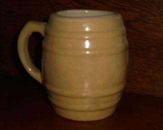Old clay mug no cracks